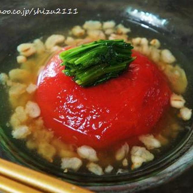 +*やずやの雑穀畑を使ったヘルシーレシピ②+*冷製トマトおでん