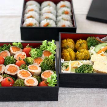 クリンスイ連載9月【かぼちゃ茶巾と彩り茹で野菜→行楽弁当に♪】