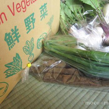 あいよのおいしい野菜便(5月) と ありがとう♪