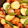 チキンとポテトのオーブン焼き ローズマリー風味  乾燥ローズマリーでお手軽に♪