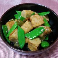 韓国おかず -- 棒オデンとインゲンの炒め物レシピ