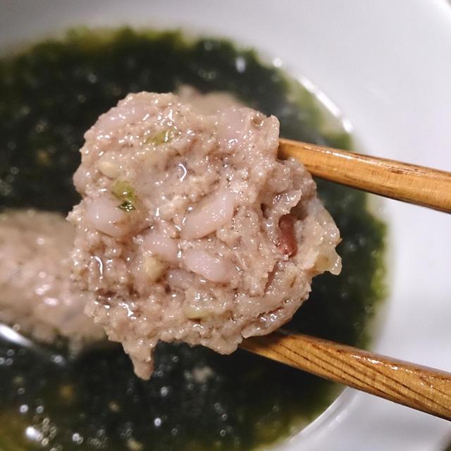 【雑穀アレンジレシピ】雑穀入りサンマのつみれと乾燥あおさ海苔のつみれ汁