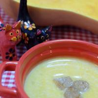 簡単で美味しい♪♪『バターナッツかぼちゃのポタージュ』☆出来上がりは、一眼レフで撮影して♪♪