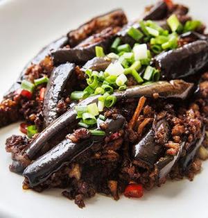 肉末茄子│豚ひき肉とナス炒め