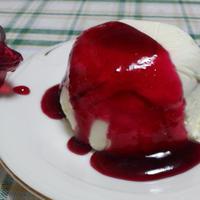 タカナシの生クリームを使った簡単アイスデザート♪