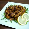 【レシピ動画】鶏むね肉のレモンバター醤油ソース♪