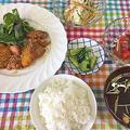 一人500kcalで作る夕食メニューの中から「ポン酢で簡単茄子のピクルス風」 by pentaさん