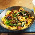 うなぎ入りニラ玉、うなぎのかさ増し&スタミナ料理 by 筋肉料理人さん