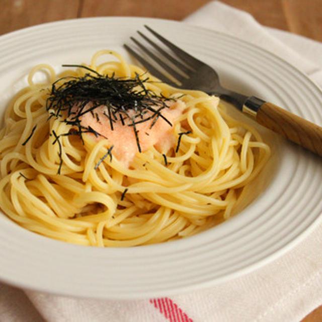 簡単・材料3つ!子供でも作れるサイゼリヤ風タラコスパゲティー