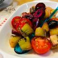 キウイフルーツのサラダ2種/初夏の馬鈴薯祭り開催中