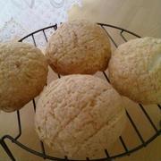 いちごクッキーのメロンパン♪