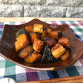 【ピリッと刺激で食欲そそる】風邪予防にオススメ☆カボチャの柚子胡椒炒め♡レシピ