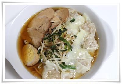 チャーシューワンタン麺  ブラウニー