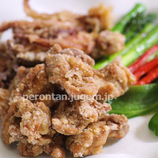 鶏の唐揚げ♪自家製アサリの佃煮