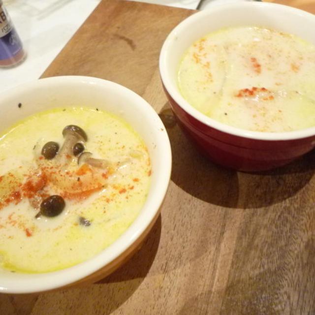 きのことおじゃがのクリームスープ