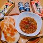 サバの味噌煮缶カレー♪