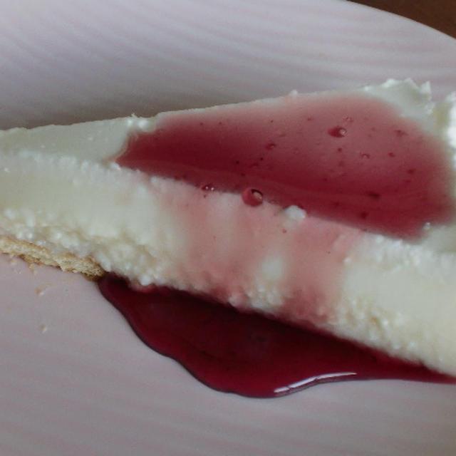 豆腐入りレアチーズケーキ