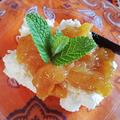 田舎では柿はもらうもの!? & カッテージチーズで簡単デザート〈モニター〉