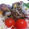 ローコストで、ジューシーステーキ! ハウス しそ梅とGABANローズマリー使った春のおうちレシピ by SHIMAさん