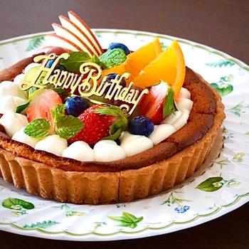 夫のお誕生日祝い