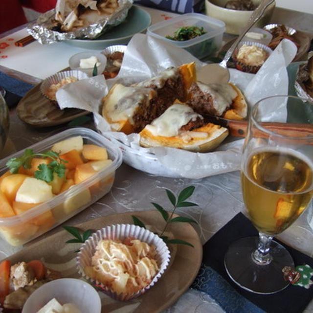 新年女子会~♪ 鮭のホイル焼き、コチ味噌マヨで