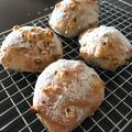夏のこねないパン「焦がしとうもろこしのリュスティック」。 by イェジンさん