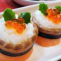 【レシピ】クリスマス★アレンジ【サーモンロール寿司】