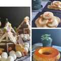 昨日は一日中スィーツづくりの日・・気の早い試作品はクリスマス用お菓子の家~♪♪