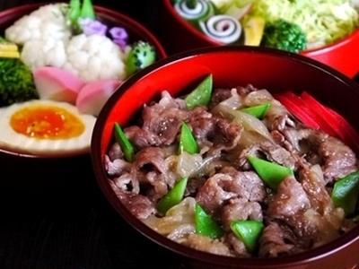 >◆牛丼弁当と、一気に白髪がー! by そーにゃさん