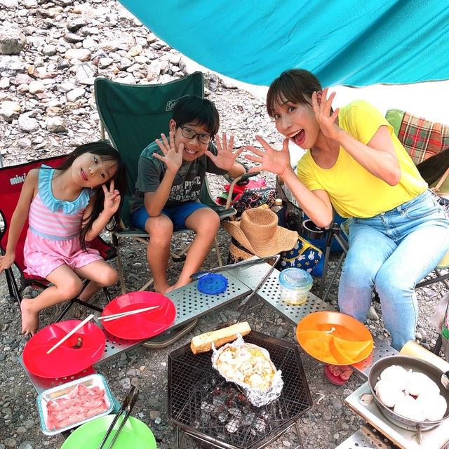 藤原家のキャンプ飯教えちゃいます〜!!
