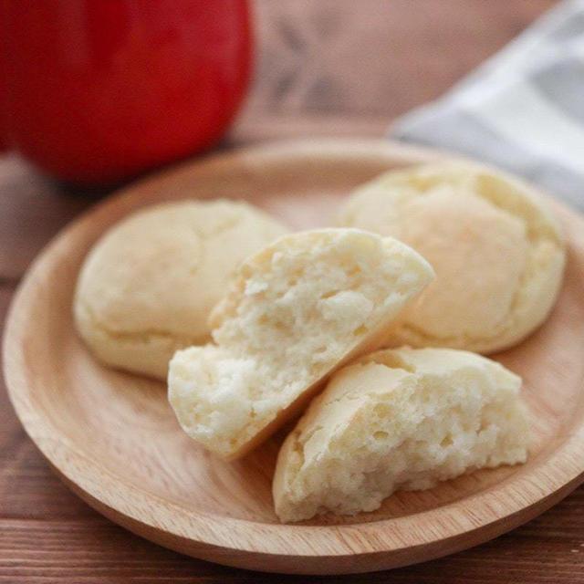 簡単米粉パンレシピ♪発酵なしベーキングパウダーで簡単時短