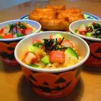 ハロウインチラシ寿司☆胡桃クリームチーズのライ麦パン・ライ麦メープルスティック