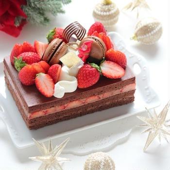 1年ぶりのクリスマスケーキ ~ガトー オ ショコラ フレーズ