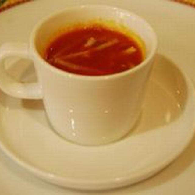トマトスープの簡単料理レシピ&ダイエットワンポイントアドヴァイス