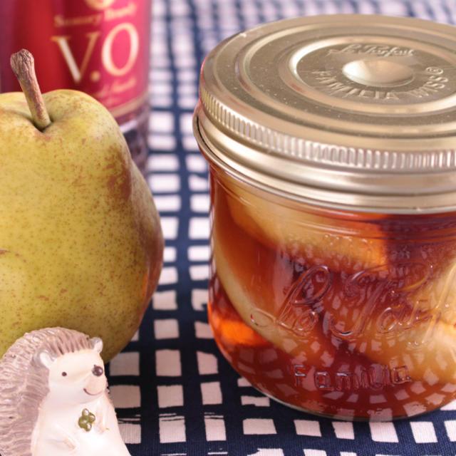洋梨のフルブラ~フルーツブランデー2