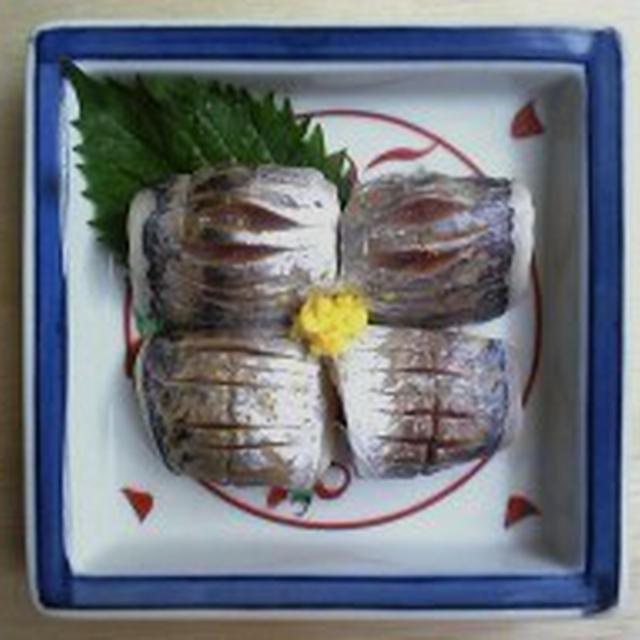 一日一品江戸料理―319「鯵の酢〆」