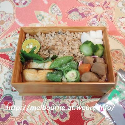 週末しごと『作り置き常備菜』 ★ お弁当は きのこの炊き込みごはん