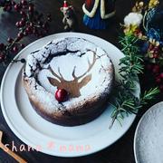 めちゃめちゃ美味しく出来ました!クリスマスガトーショコラ♪