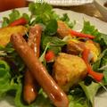 ♪とろける塩麹フレンチトーストのサラダ★味わいすっきりドレッシング★♪ by 緒方 亜希野さん