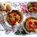 パンバーグパン(ハム*チーズ) by 桃咲マルクさん