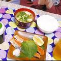 みそ汁と焼き魚(朝定食みたいな感じ)