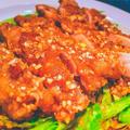 油淋鶏(ユウリンチー)~鶏肉の甘酢がけ~