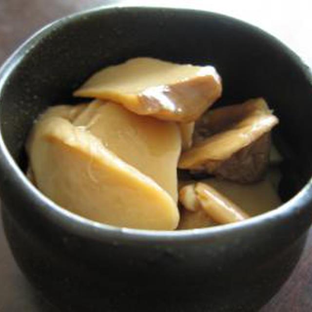 エリンギの浅漬け☆黒酢醤油