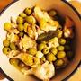 バーミキュラ ライスポットで鶏手羽元のオリーブ煮込み&ブラックアフタヌーンティー