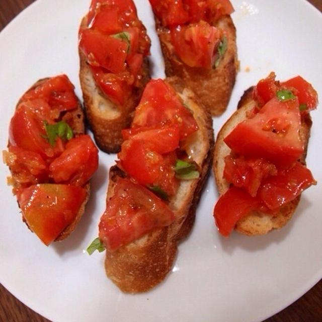 トマトな夕食
