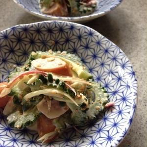 苦味が美味しい!栄養満点なゴーヤーのサラダで夏バテ予防