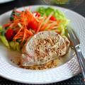豚カツ用お肉で、豚のハーブ焼き(staub サークル記事)