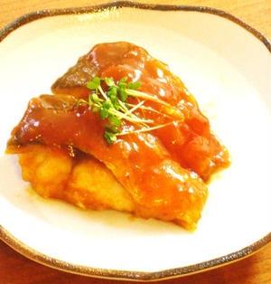 鯖のケチャップ煮
