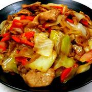 キャベツ&豚肉の簡単!味噌炒め