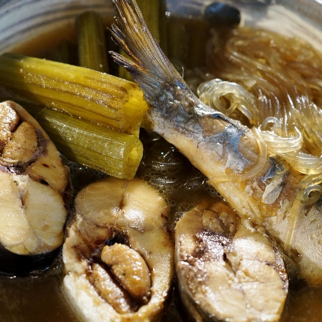 【子持ちニシンと秋田蕗の煮付け】シャトルシェフ使用で ふっくら絶品です♪